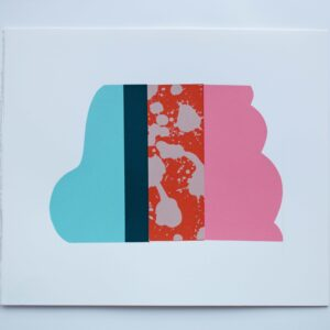 500 Cloud 30cm h x 35cm w Mary O'Connor Limited edition silk screen print - Nua Collective - Mary O'Connor - Artist