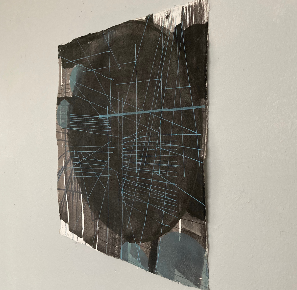 8.TVDE,XR series3,acrylic on paper, 30x30cm-Nua-Collective