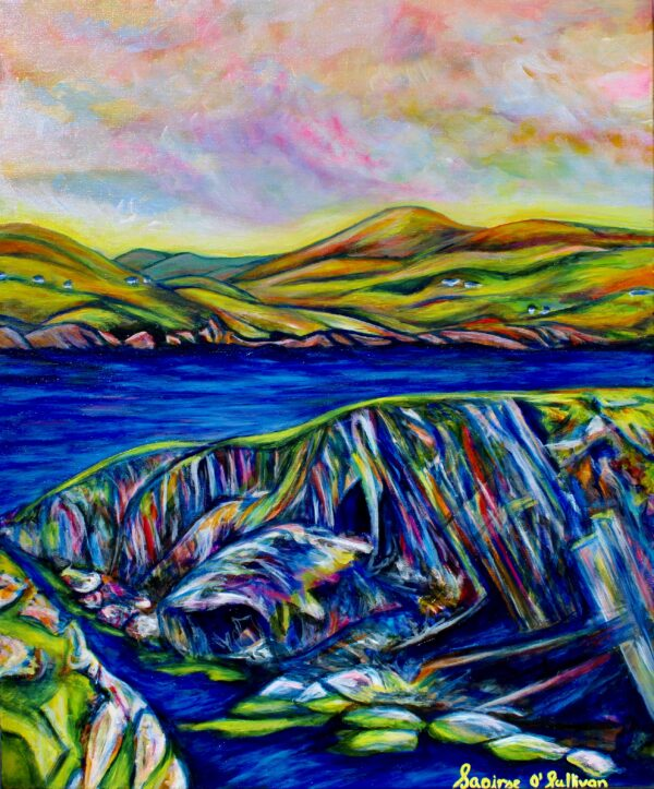 Cliff Scene-Dursey Island-Saoirse-OSullivan-Nua-Collective