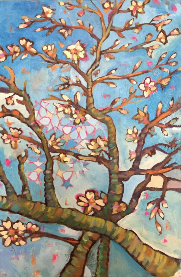 Alkalart_Almond-Blossom_-Acrylics-and-Oil_-60x40cm-Nua-Collective