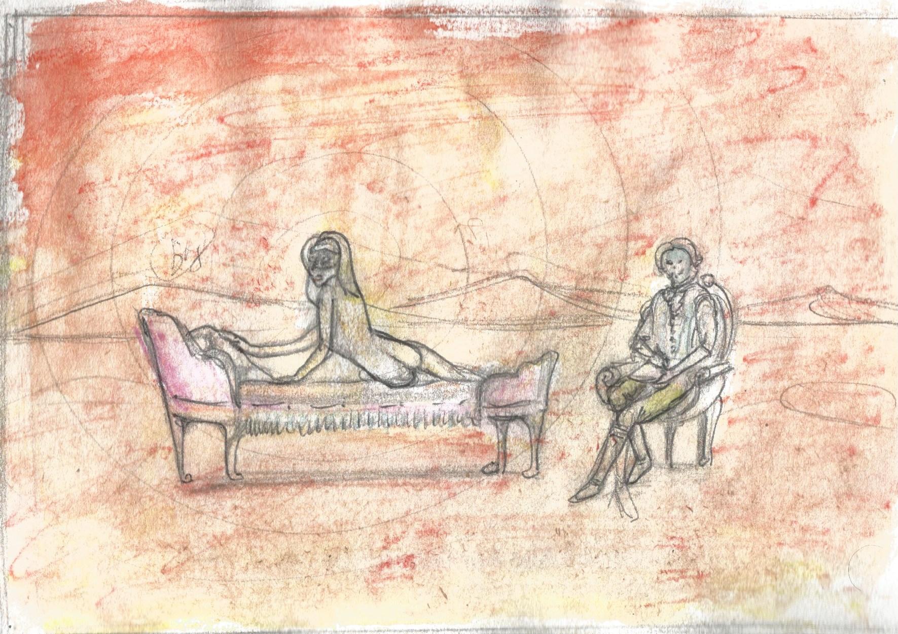 Alkalart - Nua Collective - Artist - Sketch - Desire