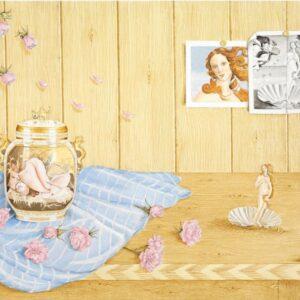 Catherine Daly - Nua Collective - Artist - BIrth of Venus (Botticelli)