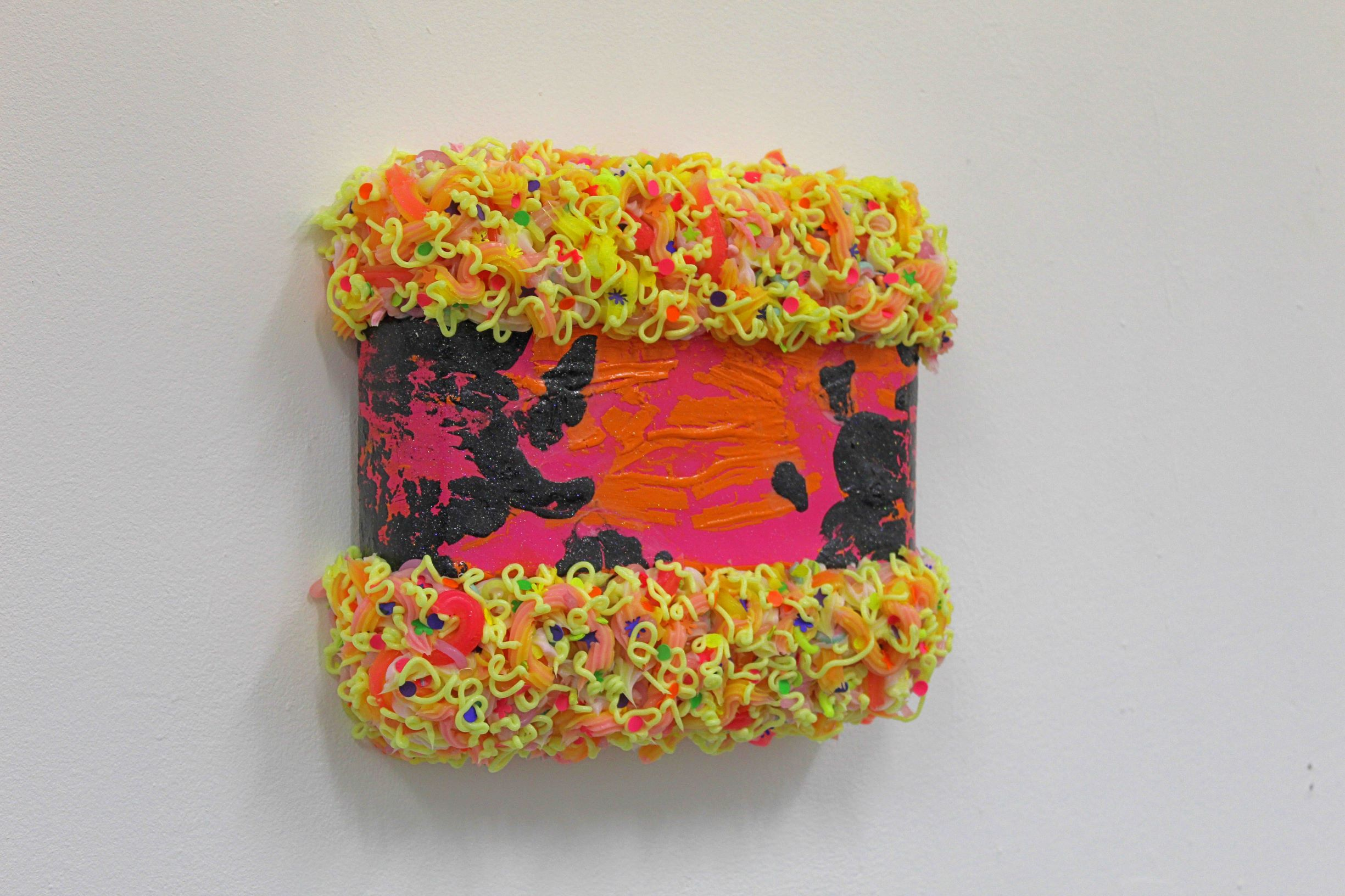 Ciaran Bowen, Sweet Sorrow, Oil, Silicone, Spray Paint, Paint Skins, Canvas on Expanding Foam, 2020-Nua-CollectiveCiaran Bowen, Sweet Sorrow, Oil, Silicone, Spray Paint, Paint Skins, Canvas on Expanding Foam, 2020-Nua-Collective