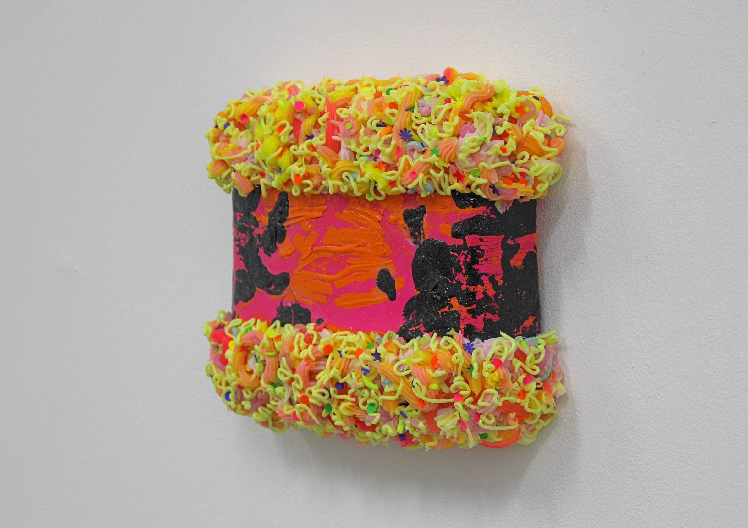 Ciaran Bowen, Sweet Sorrow, Oil, Silicone, Spray Paint, Paint Skins, Canvas on Expanding Foam, 2020-Nua-Collective