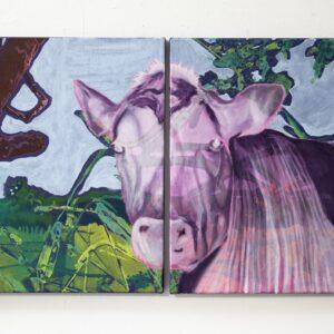 Katrina-Tracuma-Mumu-acrylic-ink-and-oil-on-canvas-50cm-by-80cm-2019-Nua-Collective