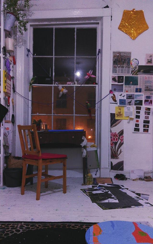 Katrina Tracuma - Nua Collective - Artists - Singers corner studio, Cork, 2018