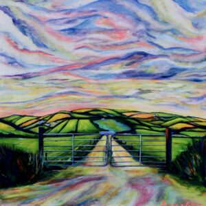 Looking down over Meadstown, Ballygarven - Saoirse O'Sullivan - Nua Collective - Artist