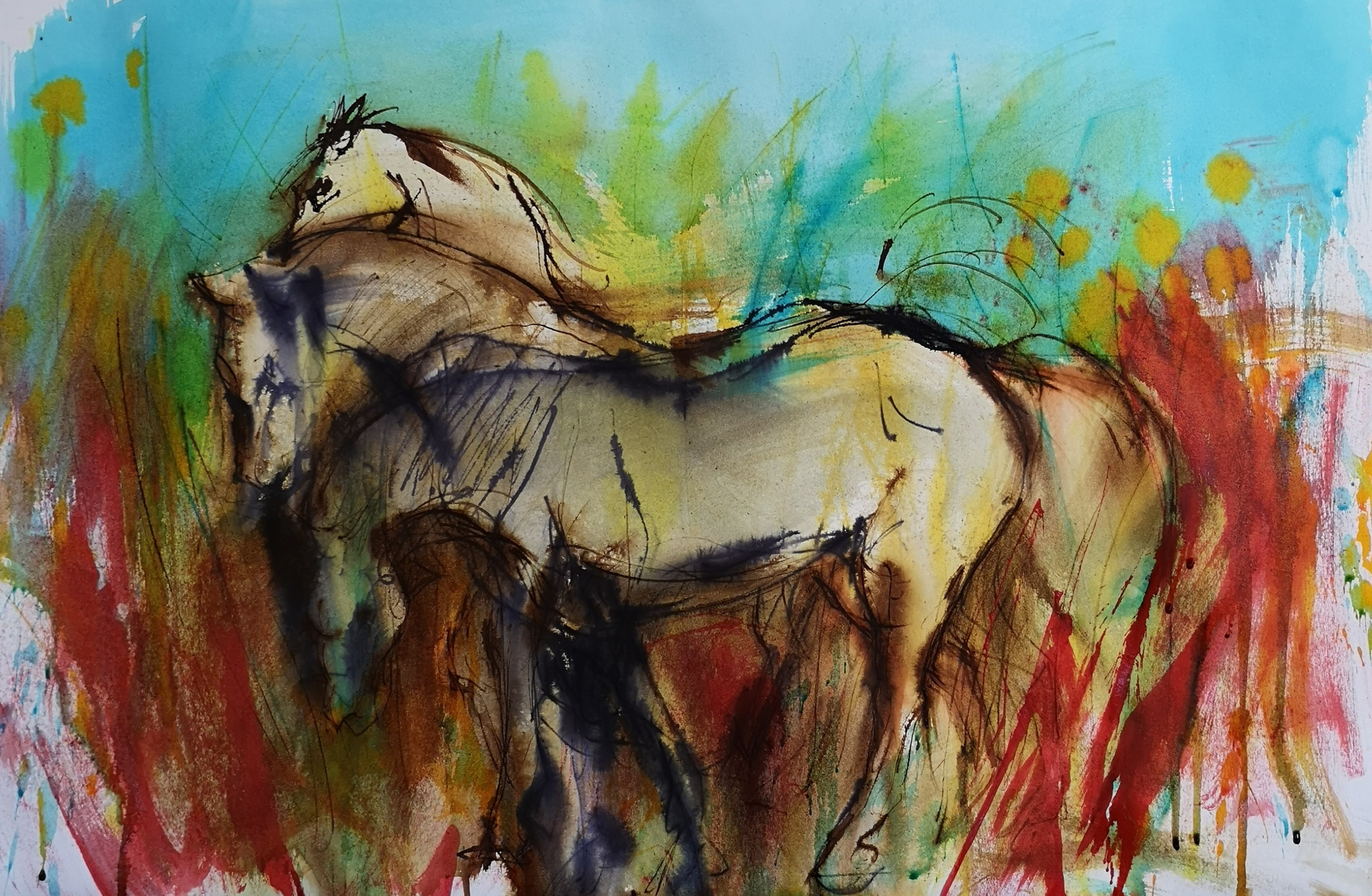 Mairead Holohan - Horses 1 - Nua Collective - Artist