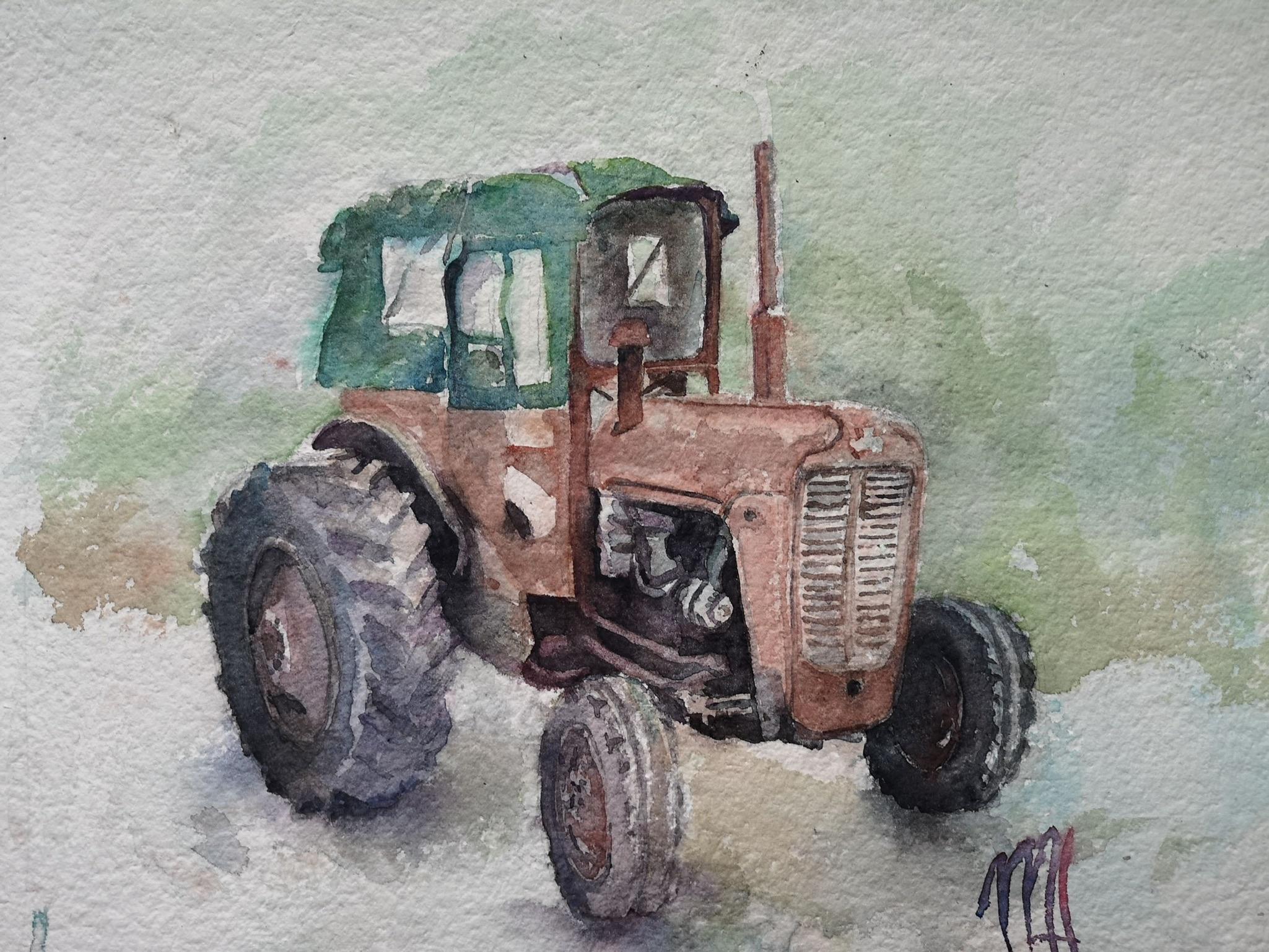 Mairead Holohan - Artist - Nua Collective - Tractor