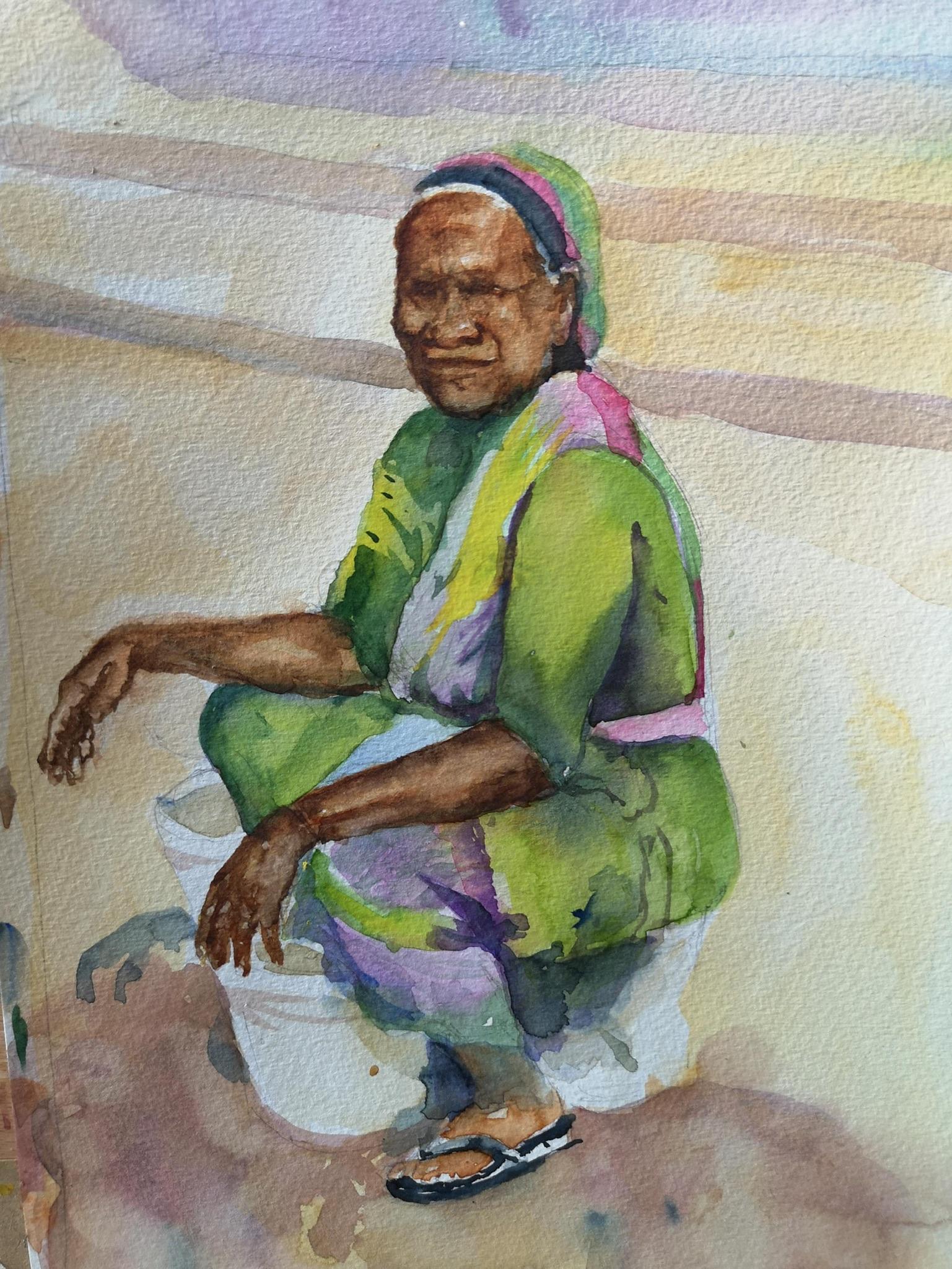 Mairead Holohan - Watercolour - Nua Collective - Artist