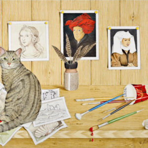 Studio Cat I - Nua Collective - Artist - Catherine Daly