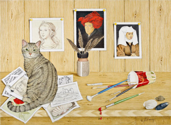 Studio Cat I - Nua Collective - Artist - Catherine Daly