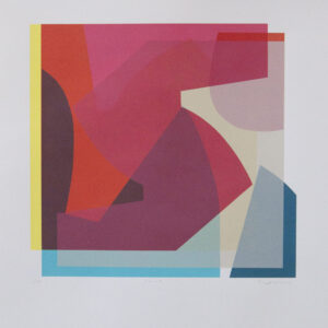 Rising Mary O'Connor limited edition silk screen print edition of 14 55cm H x 50cm- Nua Collective