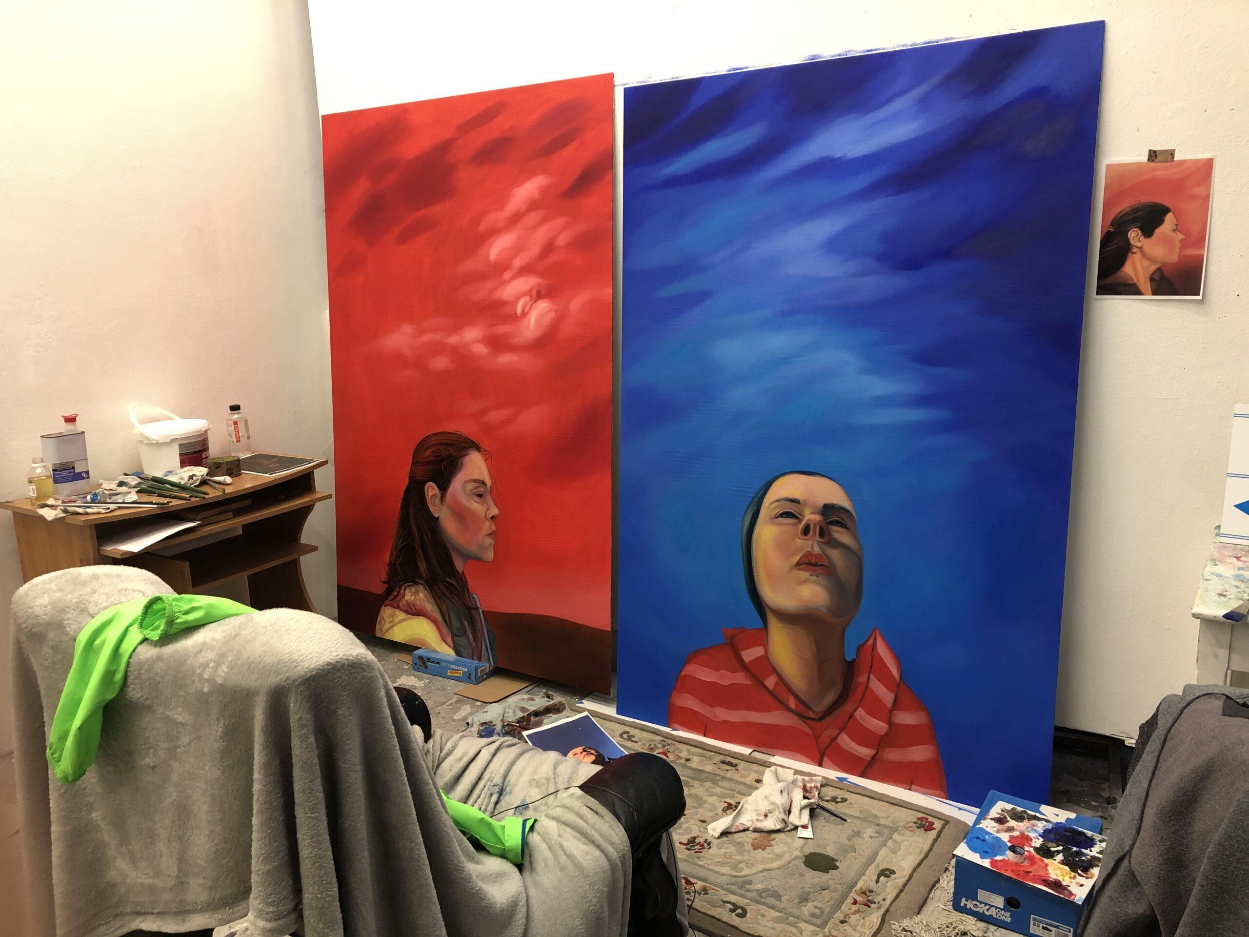 Shannon Castor Studio Shot 4 - Nua Collective - Artist
