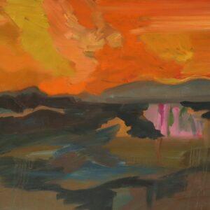 Nua Collective - Artist - Irene O'Neill - An Imagined Landscape Australian Destruction