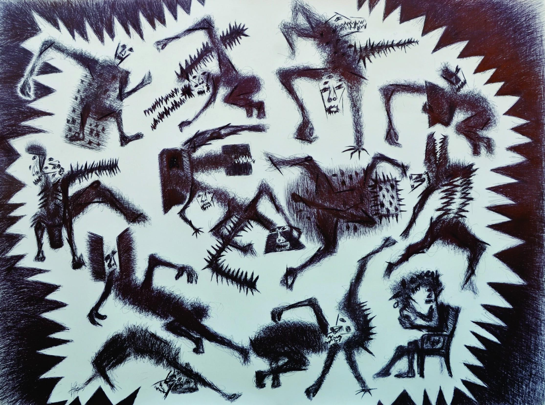 Trapped - Nua Collective - Varun Baggi - Artist