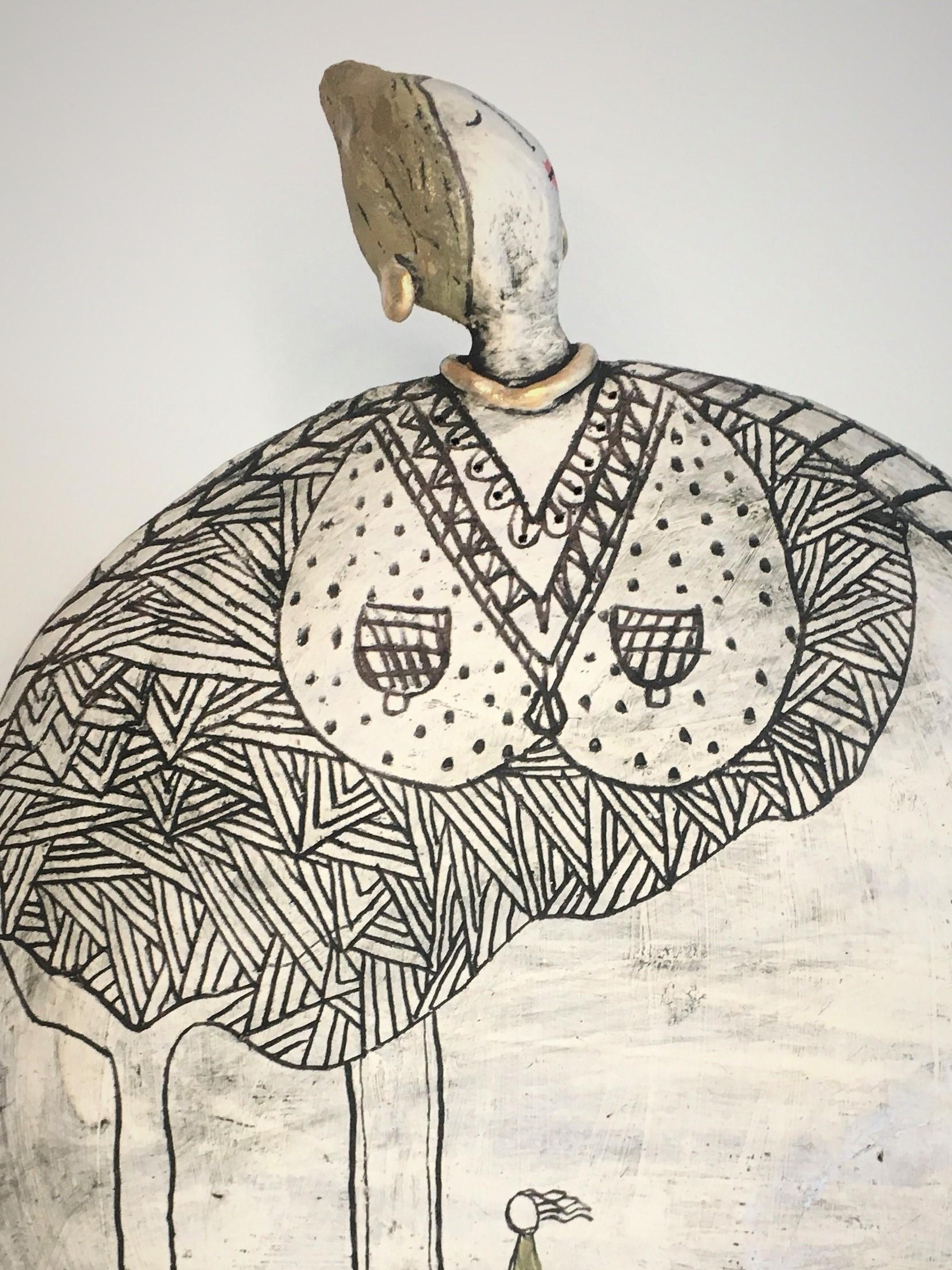 Kira O Brien Childhood , Free Standing Sculpture, H27cm x W25cm xD2.5cm €350