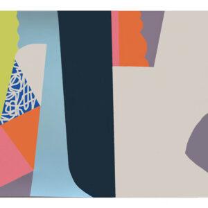Sonar III 50cm H x 70cm W Limited edition silk screen print Mary O'Connor - Nua Collective Artist