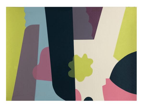 Sonar V 50cm H x 70cm Mary O'Connor Limited edition silk screen print Nua Collective Artist