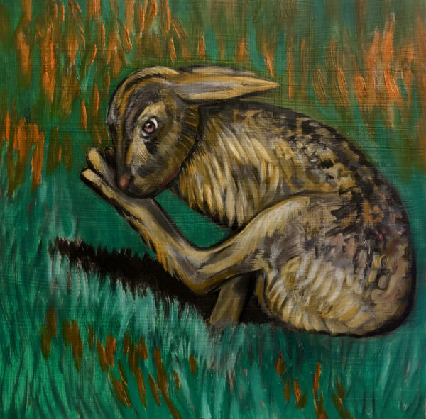 Night run Hare psychosis - Shannon Castor - Nua Collective - Artist