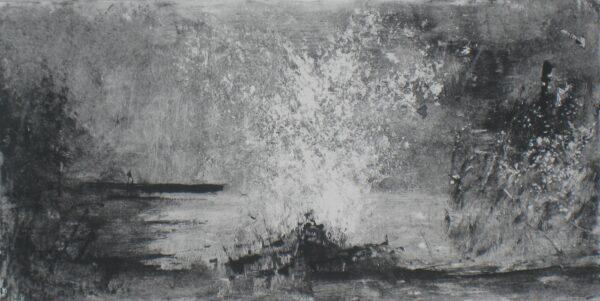 Alban Eiler - Lelia Henry - Nua Collective - 12x24cm Monoprint