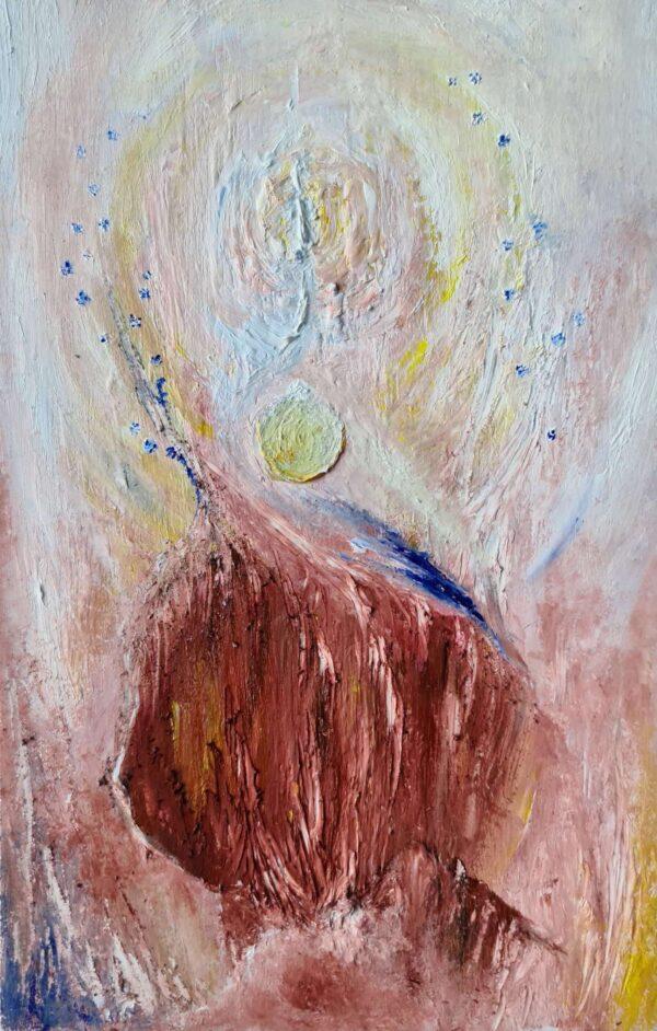 Eamonn B Shanahan - Transcendence 2021 - Oil on Paper - Nua Collective - Artist